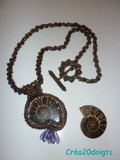 Collier Ammonite.